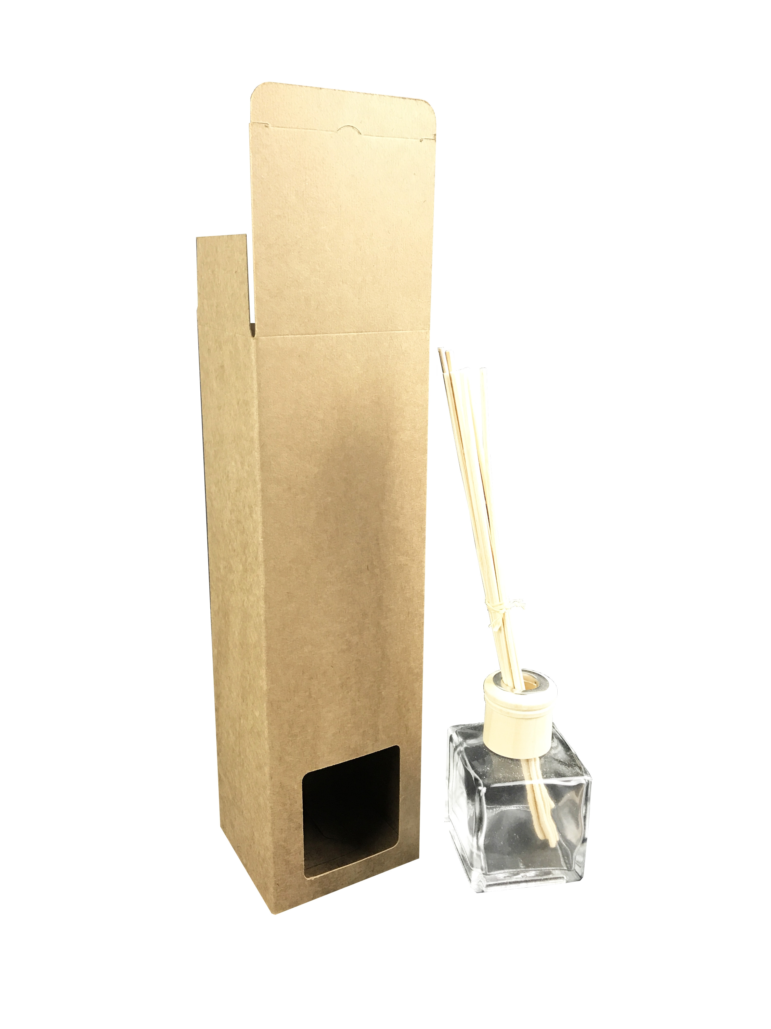 Brown Kraft Reed Diffuser Box Supplies For Candles