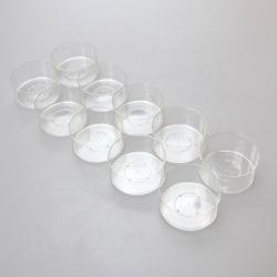 Polycarbonate Tealight Cups 38x19mm