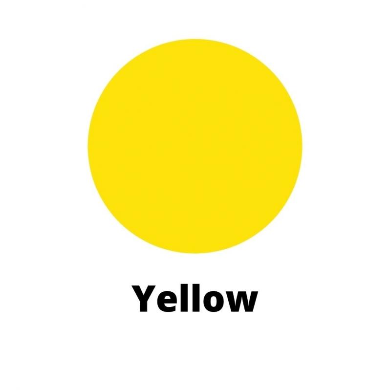 Yellow Candle Dye