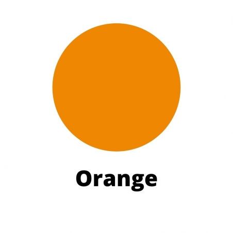 Orange Candle Dye