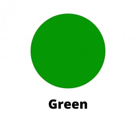Green Candle Dye