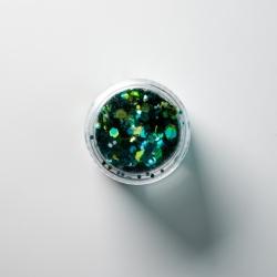 Chunky Green Glitter