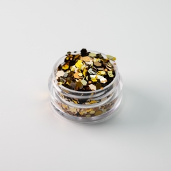 Chunky Autumn Gold Glitter