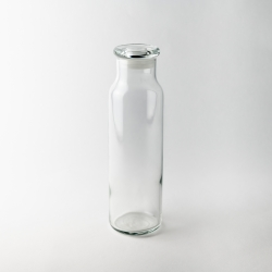 710ml Glass bottle with lid