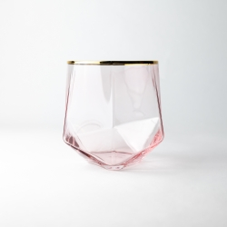 40cl Picasso Candle Glass: Rose Tint