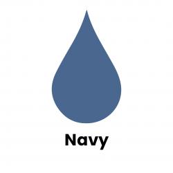 Navy Liquid Dye
