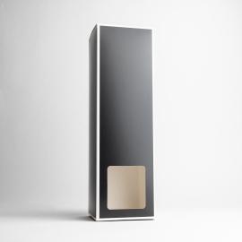 Black Reed Diffuser Box With White Rim