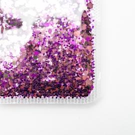 Chunky Purple Glitter