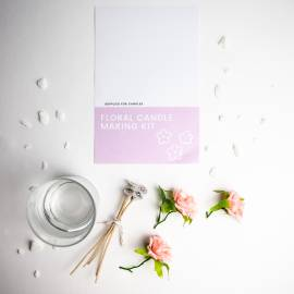 Floral Candle Making Kit