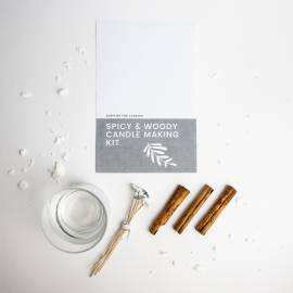 Spicy & Woody Candle Making Kit