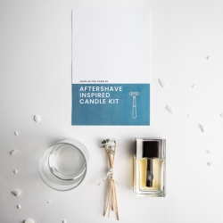 Aftershave Inspired Candle Kit