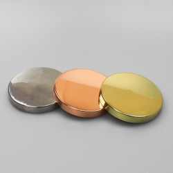 Large Steel Candle Glass lid
