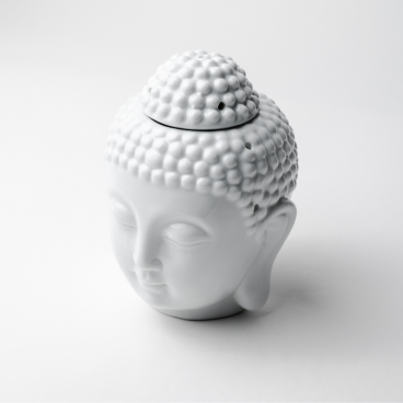 Prince Buddha Burner White