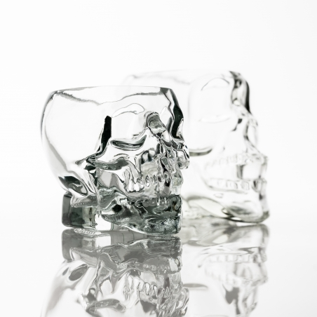 Skull Candle Glass - Box of 6