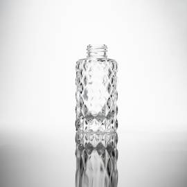Decorative Clear 100ml Diffuser Bottle - Box of 6