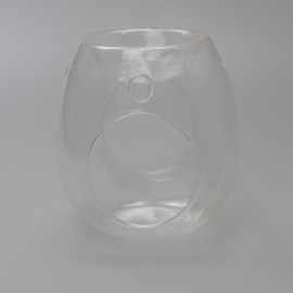 Clear Glass Wax Burner
