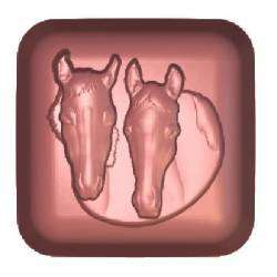 Equestrian Soap Mould