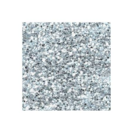 Silver Candle Glitter