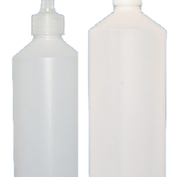 Bottle and Twist top or Child Resistant Cap