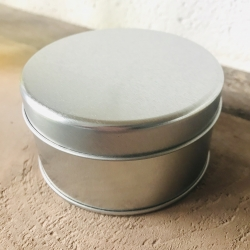 20 cl Silver Storage Tin